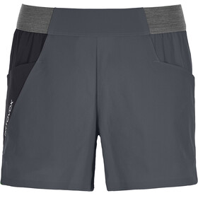 Ortovox Piz Selva Light Shorts Women black steel